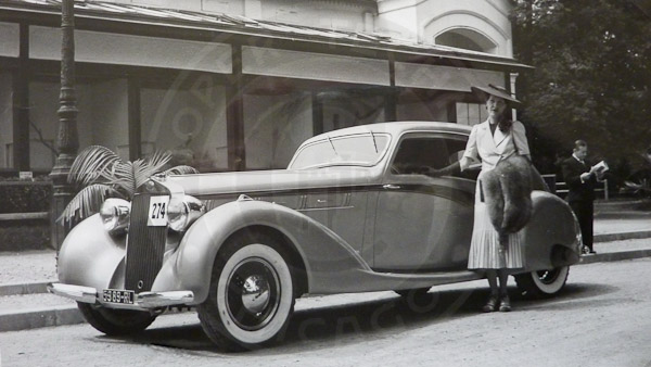 1937 Delage D8 120 A 233 Rosport Coupe Series 1 Cooper