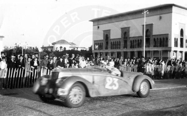1937 Delage D6-70 Rallye du Maroc - Cooper Technica, Inc ...