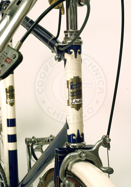 1951 Hobbs Blue Riband Road Path Bicycle Cooper Technica