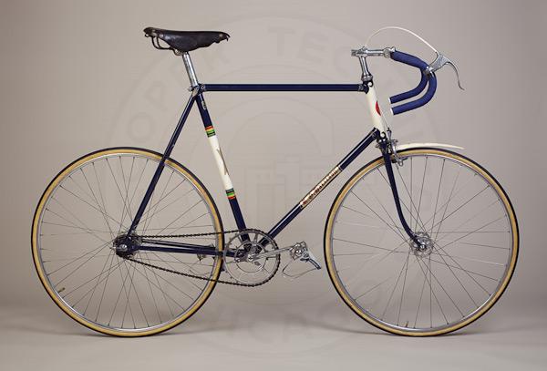 Bicycle track vintage
