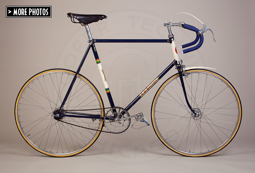 1951 R.O. Harrison Bicycle - New Star Cycles Madison track frame